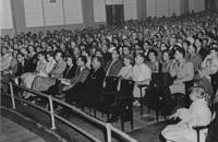 1955 - Audience at Lowry AFB